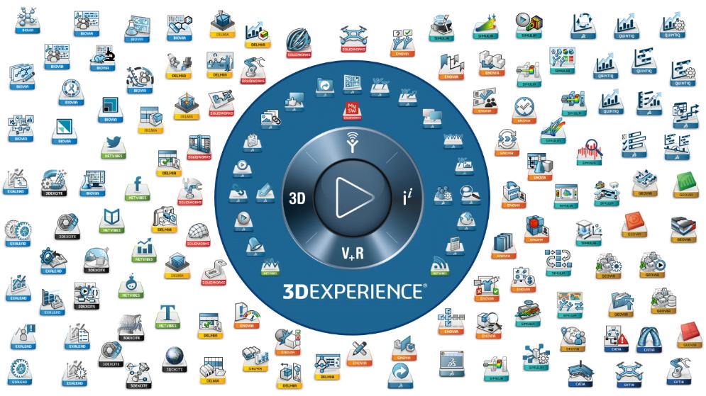 Apps disponibile in 3DEXPERIENCE.